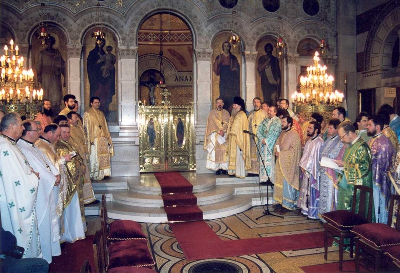 1998 03 15, Paris, Hirotonia IPS Iosif - Chirotonie Mgr Joseph