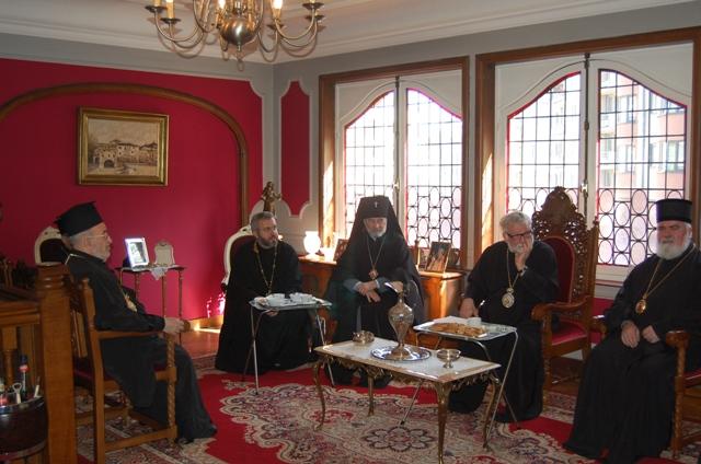 23 06 2010 Prima reuniune a episcopilor ortodocşi cu jurisdicţie în Benelux/ La première réunion des évêques orthodoxes ayant des paroisses dans le Benelux
