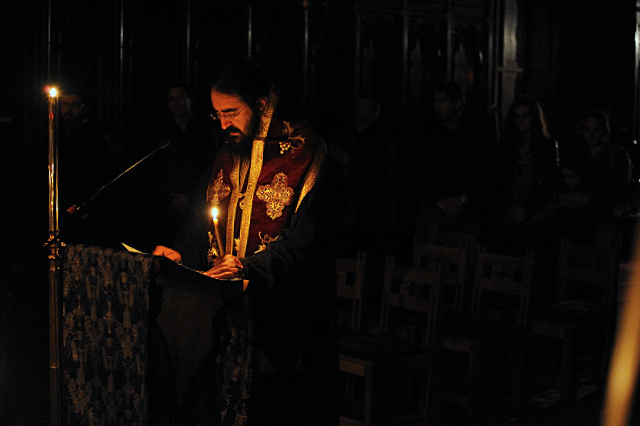 Acatist la Catedrala, vineri 12 noiembrie 2010 --- Acathiste à la Cathédrale, vendredi 12 novembre 2010