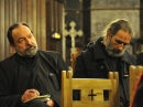 Père Jean Boboc (gauche) et Père Philippe Dautais (droite)