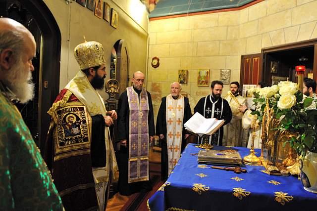 2011 03 13 Dimanche de l'Orthodoxie à la cathédrale roumaine de Paris