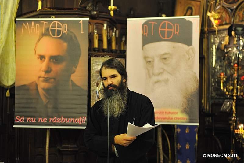 2011 11 19 MARTOR 2 - Ciclu de conferinte si comemorari: Parintele Gheorghe Calciu Dumitreasa