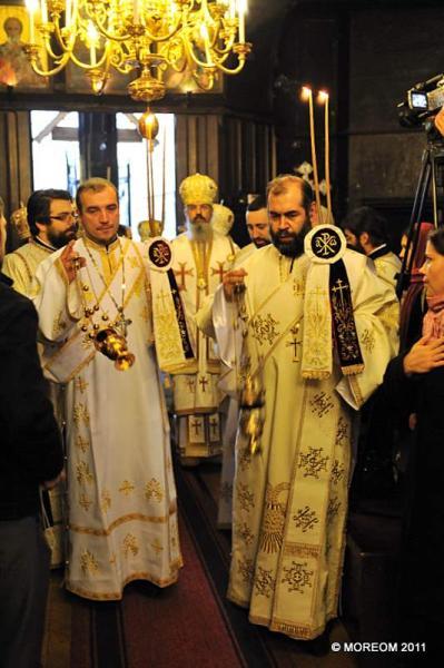 2011 12 11 Ordination épiscopale de l'évêque vicaire de l'Evêché Orthodoxe Roumain d'Espagne et du Portugal, Mgr Ignatie