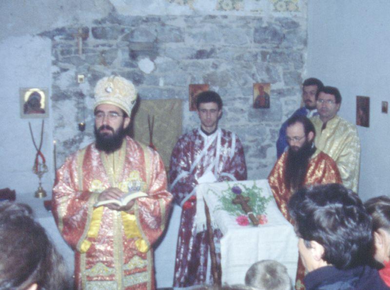 2001 09 15, Bénédiction du Monastère de Malvialle