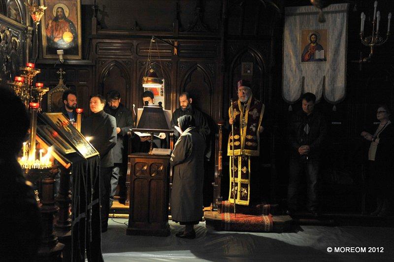 2012 04 12-14 Saptamana Mare la Catedrala Sfintii Arhangheli din Paris