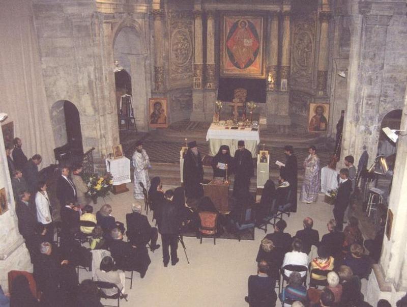 2001 10 21, Ordination épiscopale de Mgr Silouane et élévation de Mgr Joseph au rang de métropolite - Bordeaux, France