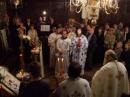 Diaconul Jean Boboc, candidatul la preoţie, înconjurat de preoţi şi diaconi