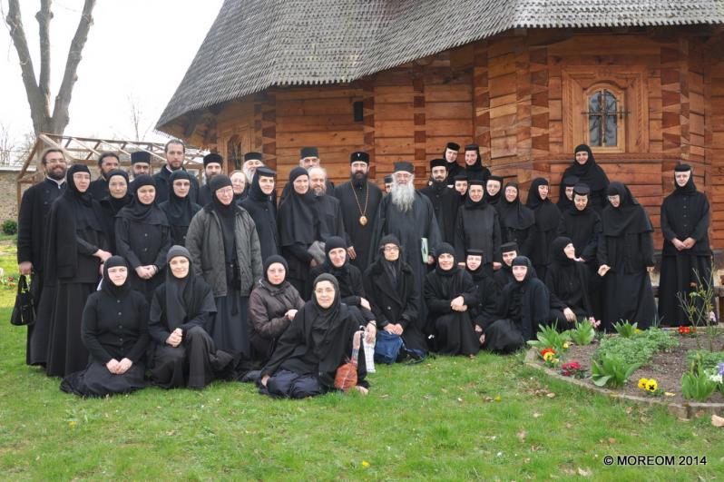 2014-03-27 Sinaxa monahilor din Arhiepiscopia Ortodoxă Română a Europei Occidentale
