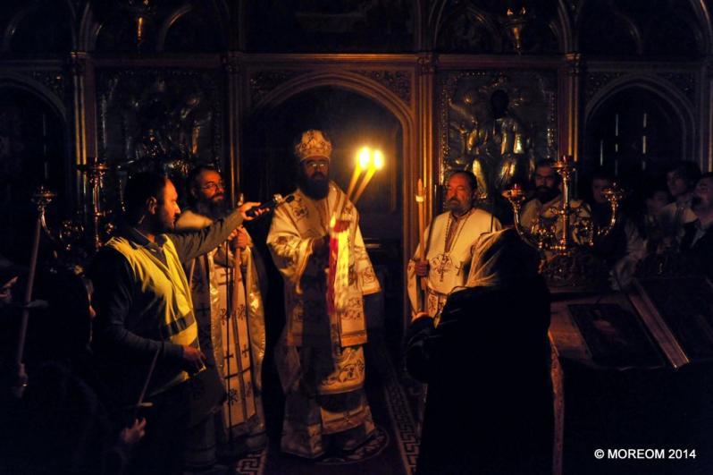 2014 04 19/20 Noaptea de Înviere la Catedrala din Paris