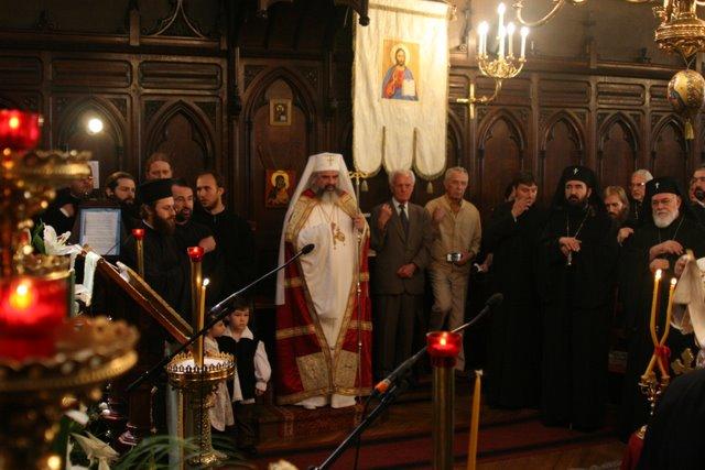 2009 07 09 Visite pastorale du Patriarche Daniel: Te Deum à la cathédrale de Paris