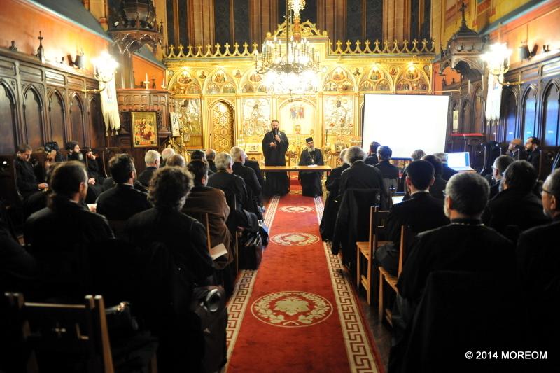 2014-11-14 Întâlnirea preoților din Protopopiatul Franței / Réunion du clergé du Doyenné de France