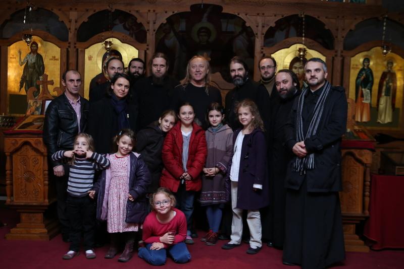 2014-11-28 Recital de colinde susținut de Ștefan Hrușcă în biserica Saint Sulpice din Paris / Concert de chants de Noël - Ștefan Hrușcă dans l'Eglise Saint Sulpice de Paris