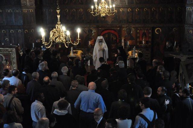 2009 07 09 Visite pastorale du Patriarche Daniel: Honoris causa à l'Institut Saint-Serge