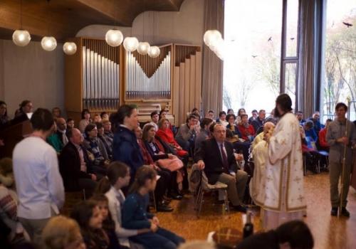 Comunitatea ortodoxă română din Basel și-a sărbătorit cu anticipație ocrotitorul, Sfântul Apostol Andrei