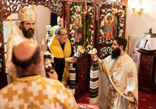 Biserica comunității române din Japonia închinată Sfântului Mare Mucenic Gheorghe a fost sfințită